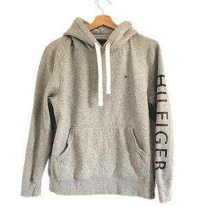 Tommy Hilfiger Hooded Pullover Sweatshirt Medium
